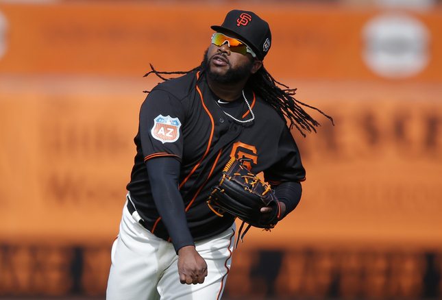 San Francisco Giants' Johnny Cueto (47) is photographed during morning workouts before the game against Los Angeles Angels in the Cactus League opener at Scottsdale Stadium in Scottsdale, Ariz., on Wednesday, March 2, 2016. (Josie Lepe/Bay Area News Group)